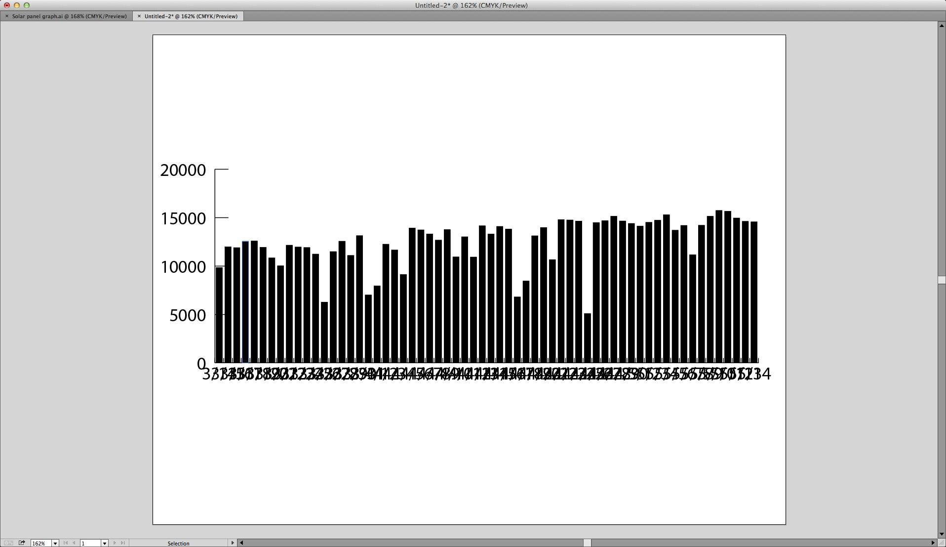 Adobe illustrator graph tool error bars with standard