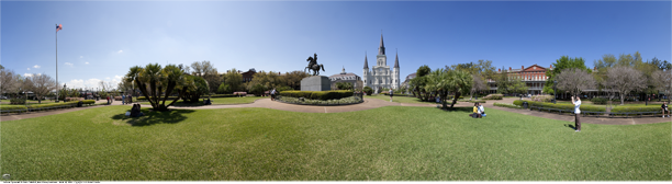 Jackson Square panoramic
